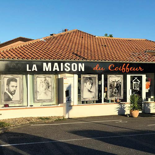 Salon de coiffure mixte - Barbier - La Maison du Coiffeur à